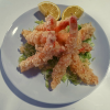 164-Langostinos en tempura 8und