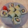 165-Uramaki tempurizado de langostinos 8und